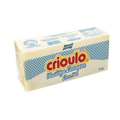 1012 - manteiga com sal Crioulo 5kg