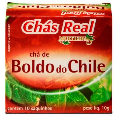 1069 - chá boldo Real 10 envelopes