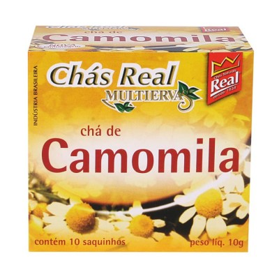 1070 - chá camomila Real 10un