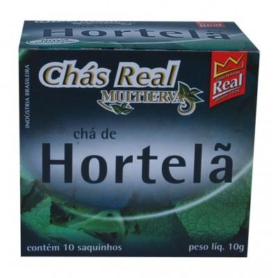 1074 - chá hortelã Real 10un