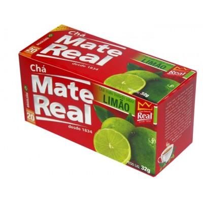 1077 - chá mate com limão Real 20un
