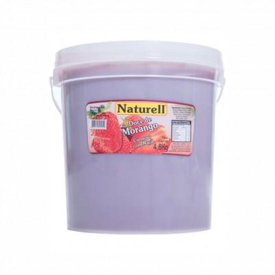 1097 - doce morango Naturell 4,8kg