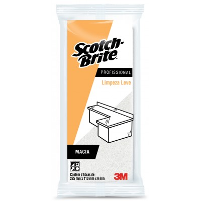 1128 - fibra macia 3M Scotch-Brite 5un