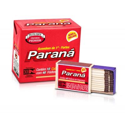 1131 - fósforo Paraná 10 caixas com 40 fósforos