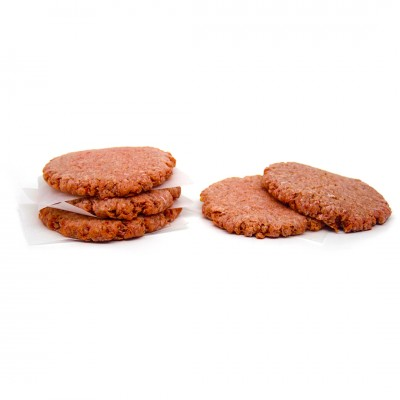 1142 - hambúrguer bovino Wessel 150g diâmetro 12,5/espessura 1cm caixa 6kg