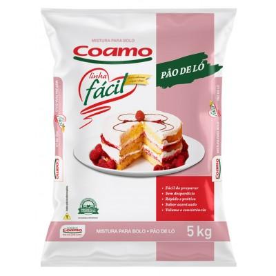 1215 - mistura para bolo pão de ló Coamo 5kg