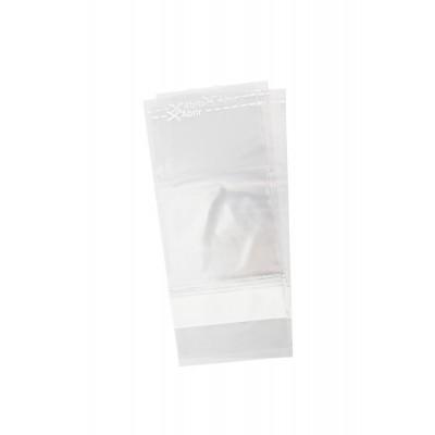 1241 - saco estéril para amostra com tarja 12 x 30cm 100un