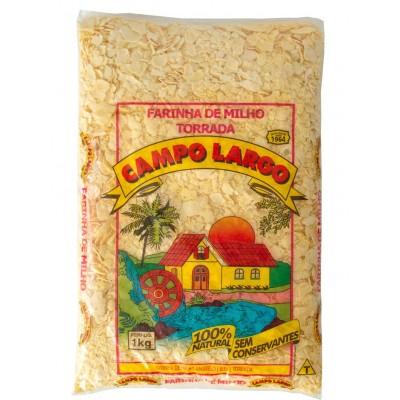 1323 - Farinha de milho amarelo biju Campo Largo 1kg