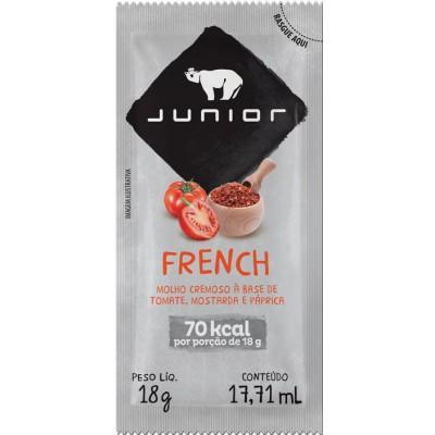 1342 - sachê molho para salada French Junior 180 x 18g