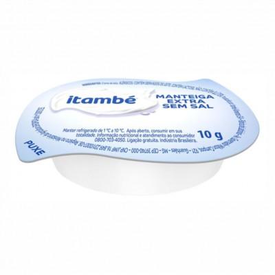 1344 - blister manteiga sem sal Itambé 192  x 10g