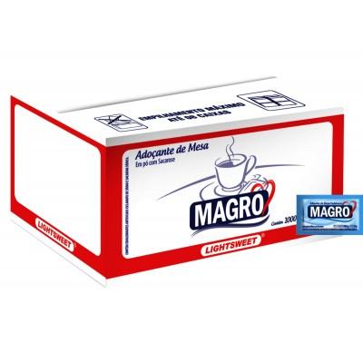 1369 - sachê adoçante Magro 1.000 x 0,6g