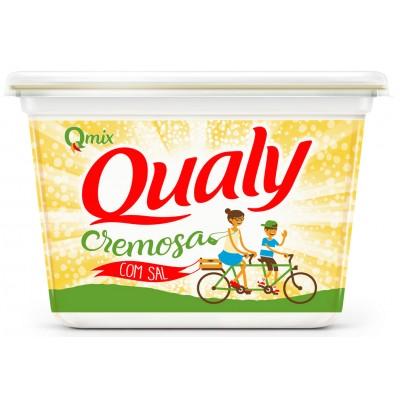 1386 - margarina com sal 80% lipídios Qualy 500g
