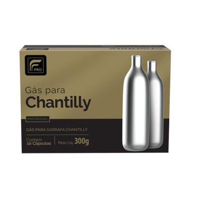 1472 - gás para chantilly fpro 10 cápsulas