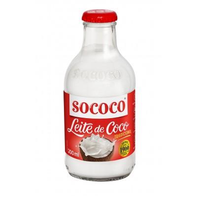 1515 - leite coco 25% Sococo garrafa 200ml
