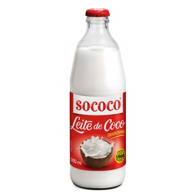 1519 - leite coco 25% Sococo garrafa 500ml