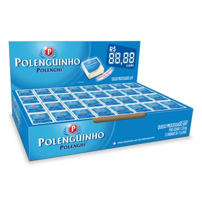 1551 - Polenguinho granel tradicional 72un x 17g