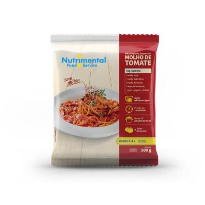 1563 - molho tomate extra pó Nutrimental 500g rende 3,48lt