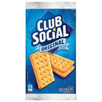 1622 - biscoito Club social original 6 x 24g