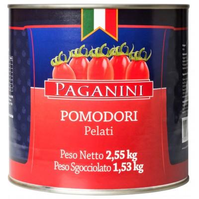 1680 - tomate pelado Paganini 2,55kg