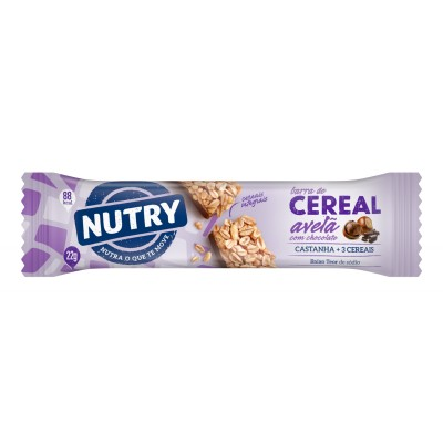 1706 - Nutry avelã com chocolate 24 x 22g