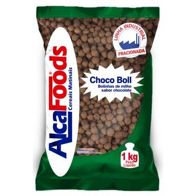 1712 - choco boll Alca Foods pacote 1kg