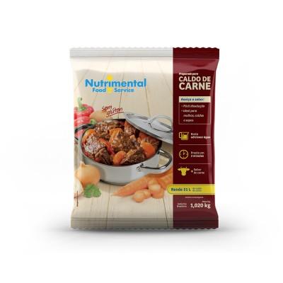 1721 - caldo de carne Nutrimental 1,02kg rende 52L