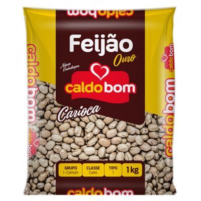 1733 - feijão carioca Caldo Bom 1kg