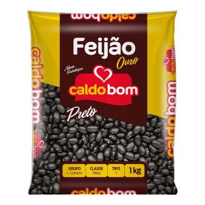 1734 - feijão preto Caldo Bom 1kg