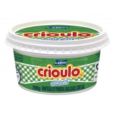 1779 - manteiga com sal Crioulo pote 200g