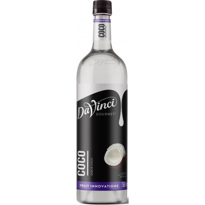 1782 - xarope coco Davinci 750ml pet