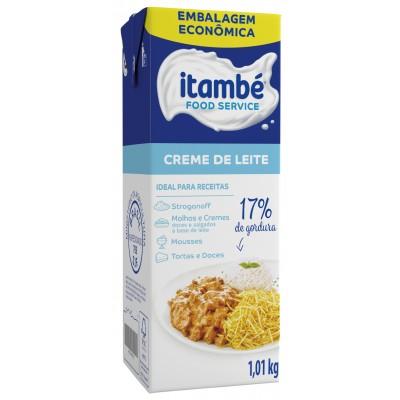 1784 - creme de leite Itambé 1,01kg 17% de gordura