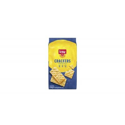 1801 - biscoito crackers 6 x 35g sem glúten Schär 210g