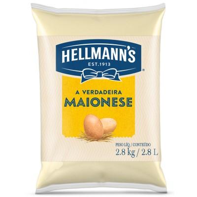 1842 - maionese Hellmann's bag 2,8kg 33% de lipídios