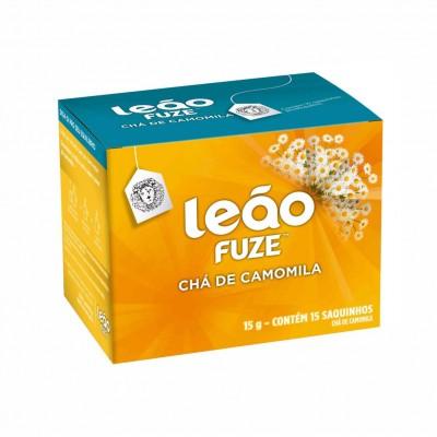 1846 - chá camomila Leão Fuze 15 envelopes