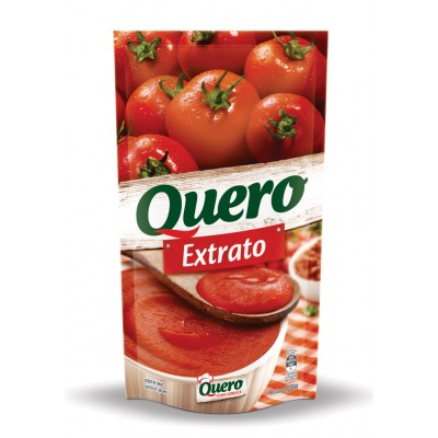 1868 - extrato tomate Quero sachê 1,02kg brix 12,5%