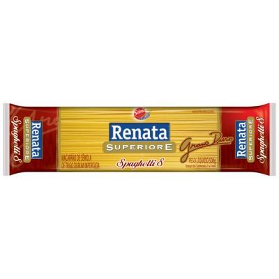 2060 - macarrão Grano duro espaguete Renata 500g