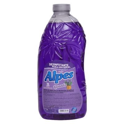 2073 - desinfetante lavanda pinho Alpes 2L
