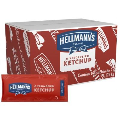 2113 - sachê catchup Hellmann's 168 x 7g