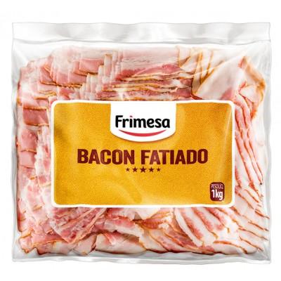 2116 - suíno - bacon fatiado congelado Frimesa 1kg