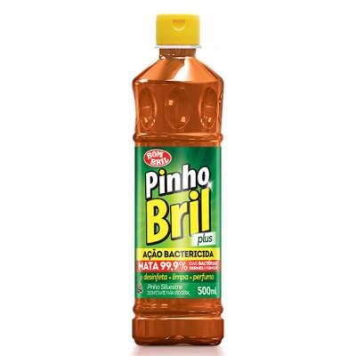 2187 - desinfetante pinho Brilho silvestre Plus Bombril 500ml