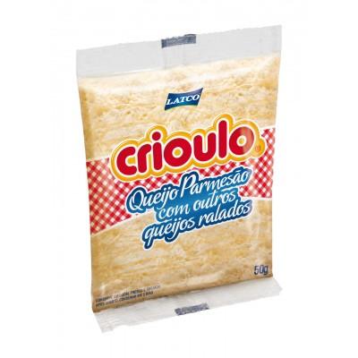 2221 - queijos ralados Crioulo 20 x 50g