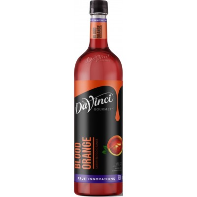 2318 - xarope blood orange Davinci 750ml pet