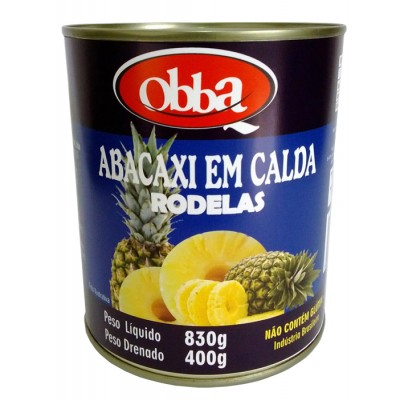 2347 - abacaxi extra calda rodelas Obba 400g