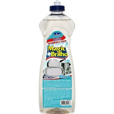 2360 - brilha alumínio e inox Magic Brilho clear 500ml