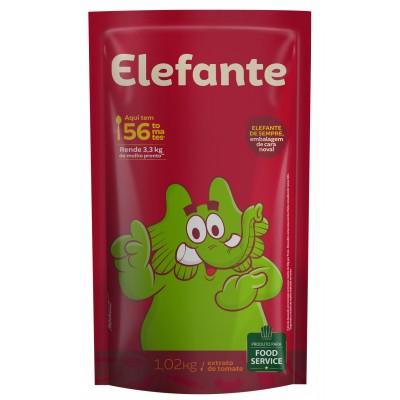 2415 - extrato tomate Elefante bag 1,02kg