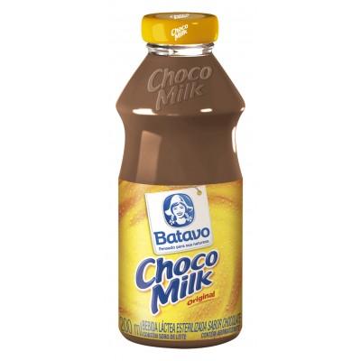2419 - achocolatado líquido Chocomilk garrafa 24 x 200ml