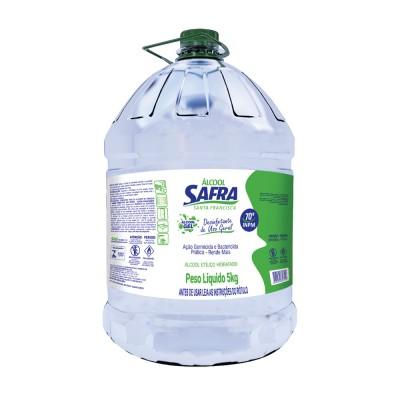 2430 - álcool gel 70 graus Safra 5kg