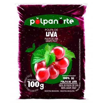 2439 - polpa de uva Polpa Norte 10 x 100g