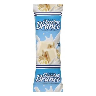 2454 - embalagem para picolé chocolate branco 290un 6,7 x 19cm Bopp perolizado Rio novo
