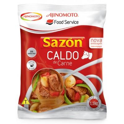 2479 - caldo de carne Sazón 1,1kg rende 55L